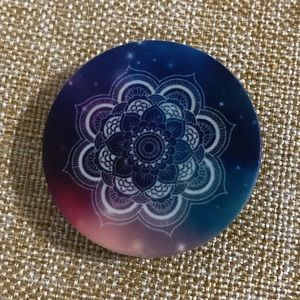 Tie dye Flower Mandala POP Socket